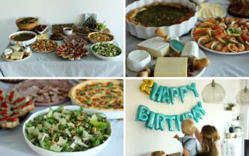 Przyjęcie urodzinowe – sprytne i szybkie przepisy + organizacja pracy