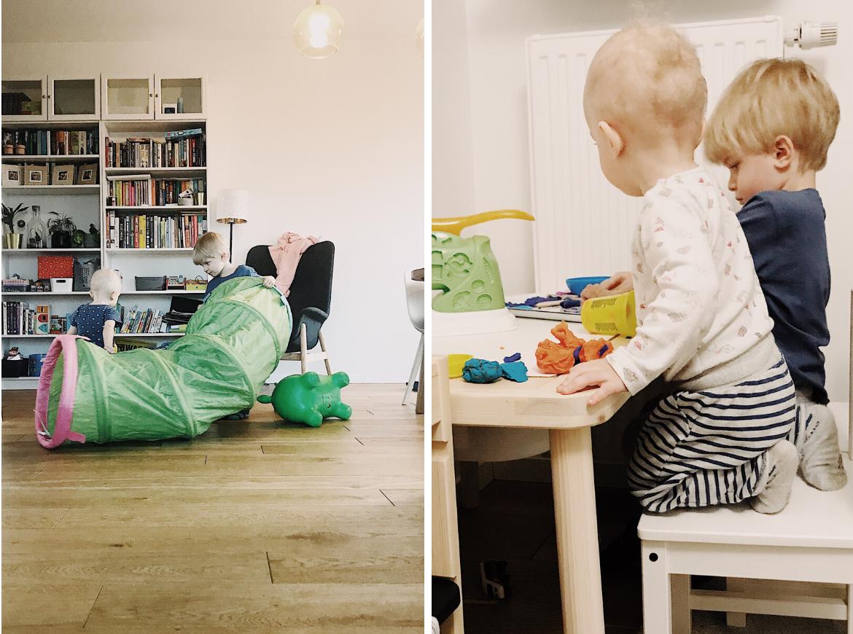 jak przetrwać z dziećmi w domu